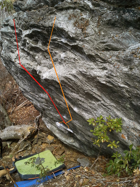 Rock Climbing Photo: Orange is the El Swiper right. I doubt this is a n...