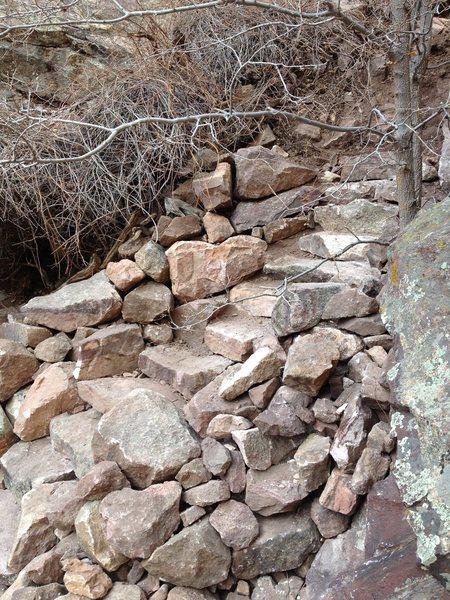 Hawk-Eagle ridge trail in Eldo