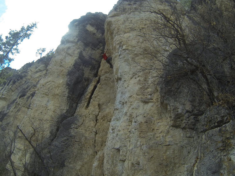 Rock Climbing Photo: Legend of T.