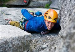 Rock Climbing Photo: P1 of High Plains Drifter - Squamish, BC
