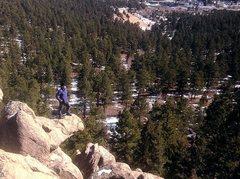 Rock Climbing Photo: Just chillin'.