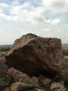 Rock Climbing Photo: Starts on the slopey ledge on the right and moves ...