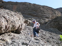 Rock Climbing Photo: 29-Jan-2012: Steve Rathbun leading Twinkle Toes Tr...