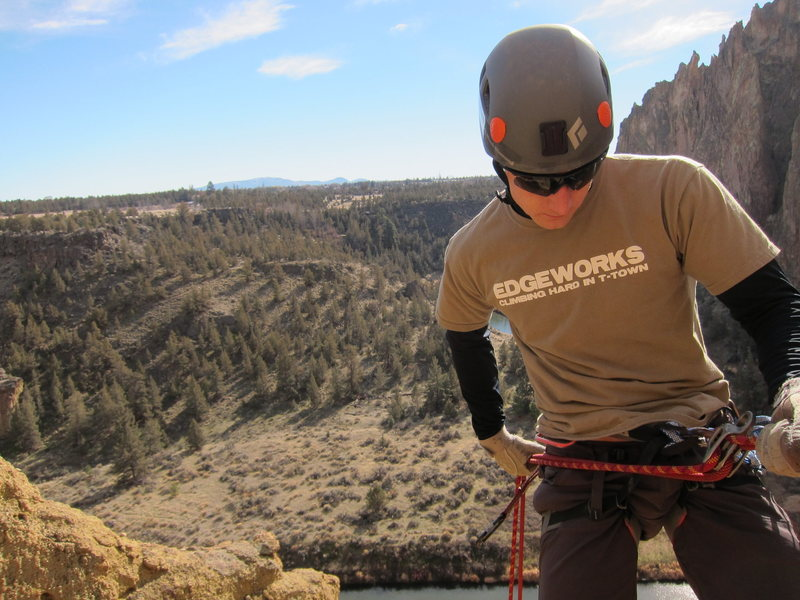Rock Climbing Photo: Rap at Smith Rock