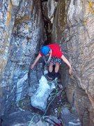 Rock Climbing Photo: Guess that climb?