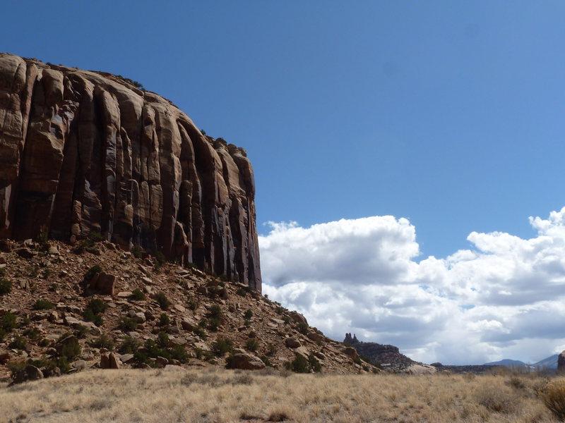 Rock Climbing Photo: super