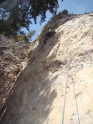 Rock Climbing Photo: Jerry discovers She's Only 17, 5.11c  Butt Rocks W...