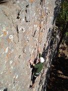 Rock Climbing Photo: Clark on TR. Photo by Spenser Bolte