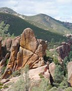 Rock Climbing Photo: Tiburcio's X from the Sisters