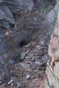 Rock Climbing Photo: Hawk-Eagle Ridge steps