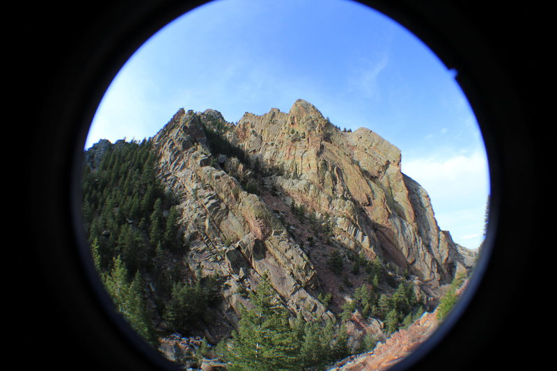 Rock Climbing Photo: Fowler trail fish eye.