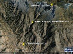 Rock Climbing Photo: Approach overview