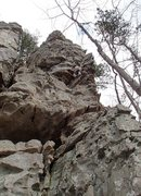 Rock Climbing Photo: Festering Crabs, Jamestown, AR April 7, 2013