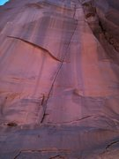 Rock Climbing Photo: The photo does not do it justice, but this thing i...