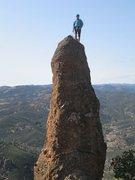 Rock Climbing Photo: Me on top - Sunday April 7