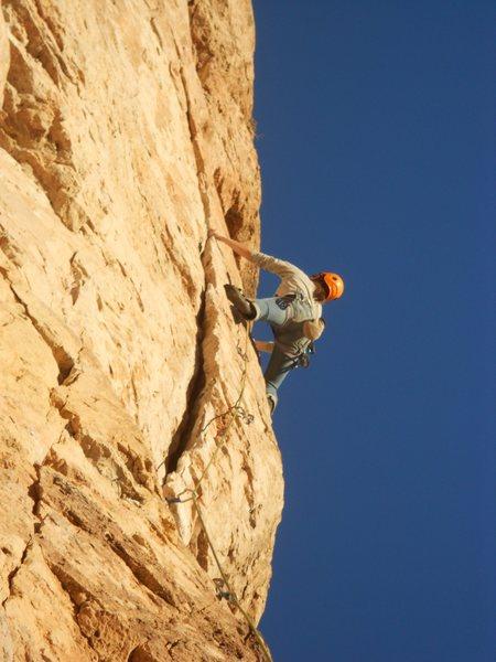 Rock Climbing Photo: Toxxxic Entertainment 5.10a