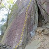 The right edge of the Weisner Slab