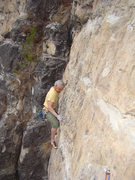 Rock Climbing Photo: Sidepull, crimp go for hidden holds! Got a Habit L...