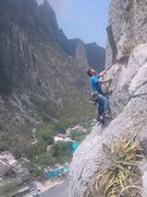 Rock Climbing Photo: estrellita