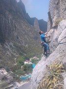 Rock Climbing Photo: estrellita