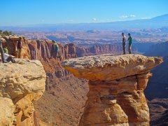 Rock Climbing Photo: Exposed?