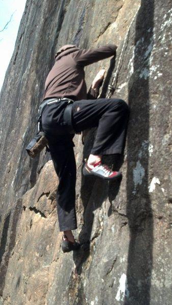 Rock Climbing Photo: Toproping Bolt ladder 5.9+