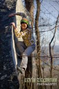 Rock Climbing Photo: Alison Spatz climbs an obvious arete at the Breakf...