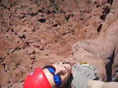 Rock Climbing Photo: looking down from the top!