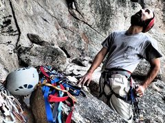 Rock Climbing Photo: Richard