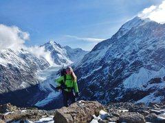 Rock Climbing Photo: Ball Pass NZ