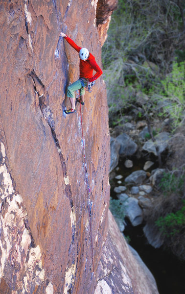 Rock Climbing Photo: A French Canadian cruisin