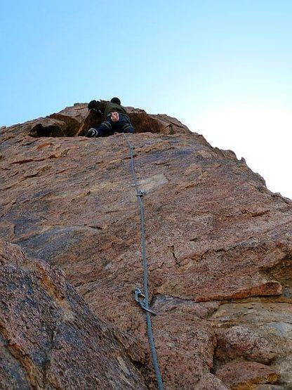 Rock Climbing Photo: Sport climbing, High Desert
