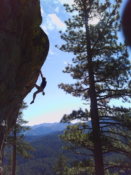Rock Climbing Photo: sport rout'n in tahoe