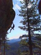 Rock Climbing Photo: sport rout'n in tahoe