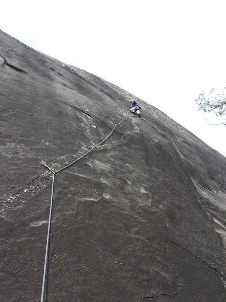 Lots o bolts... and hard climbing.