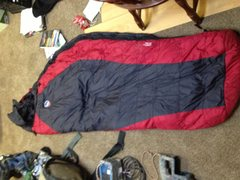 Rock Climbing Photo: Big Agnes 0 F Synthetic Sleeping Bag