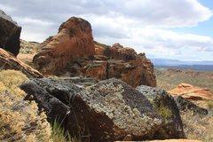 Cougar Cliffs area in April