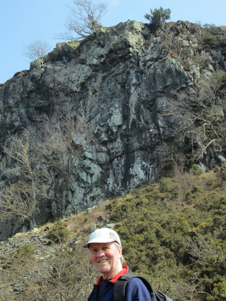 Rock Climbing Photo: Peter Lockey. Photo taken 10th April 2013. Now get...