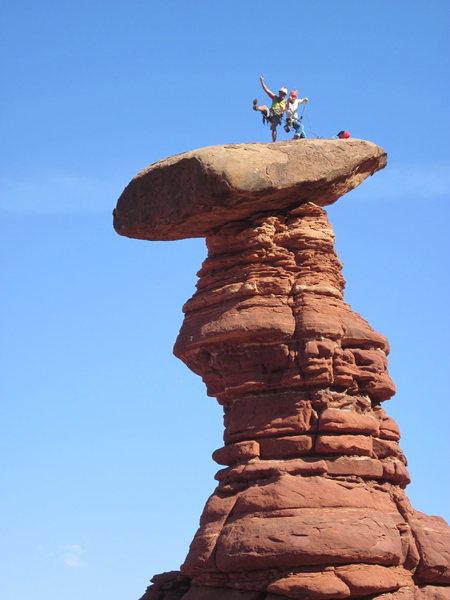 Rock Climbing Photo: love it
