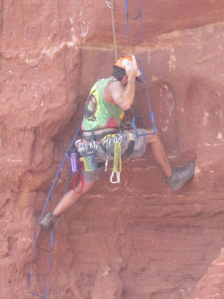 Rock Climbing Photo: yea!!!