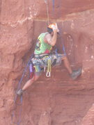 Rock Climbing Photo: yea!!!