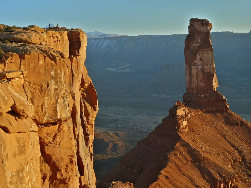 Rock Climbing Photo: The golden hour on top of my first hungry tower.  ...