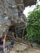 Rock Climbing Photo: Fun start