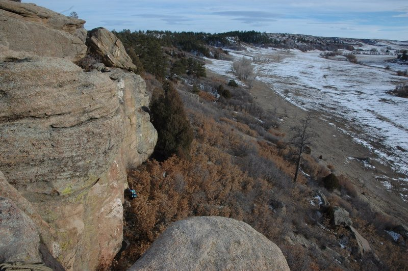 Rock Climbing Photo: South Canyon Point.