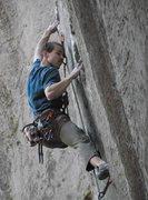 Rock Climbing Photo: Redpoint Attempt