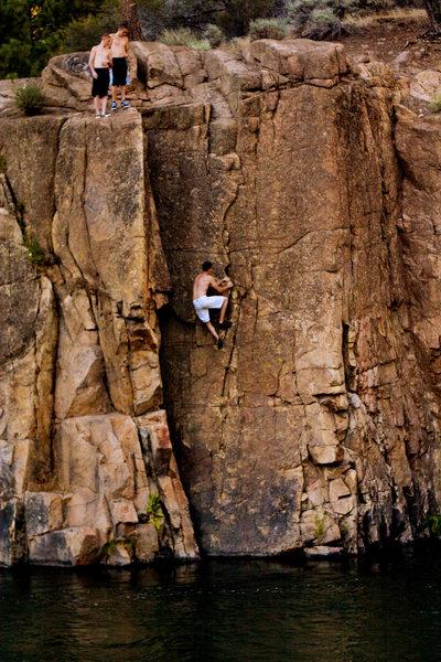 Rock Climbing Photo: Washed Up.