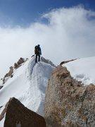 Rock Climbing Photo: Descending the West Buttress