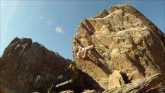 Rock Climbing Photo: v0 Overhang Jan/2013