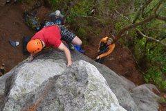 Rock Climbing Photo: Delicate moves