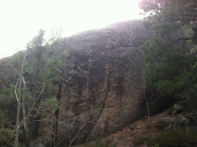Rock Climbing Photo: Hydra-Crack Boulder